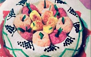 Turbante di riso alla frutta