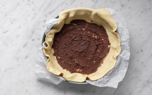 Preparazione Torta salata con fave e olive alla menta - Fase 5