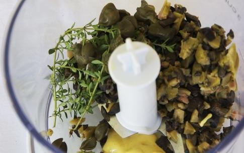 Preparazione Branzino, tapenade e pomodorini al miele - Fase 1
