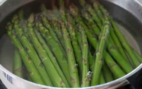 Preparazione Sfogliata agli asparagi - Fase 1