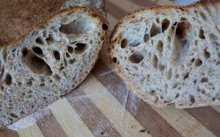 Pane semintegrale con lievito naturale
