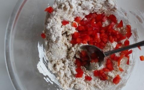 Preparazione Vegan plumcake con rucola e peperone - Fase 2