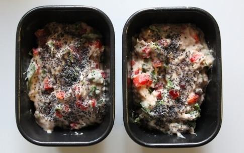 Preparazione Vegan plumcake con rucola e peperone - Fase 3