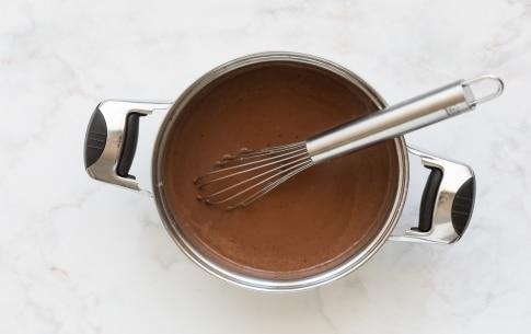 Preparazione Budino al cioccolato - Fase 2