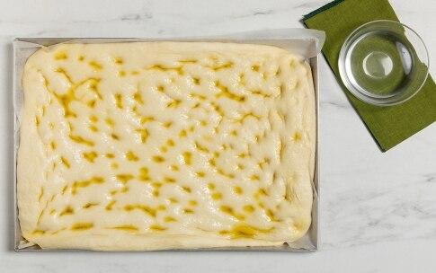 Preparazione Focaccia alle olive - Fase 2