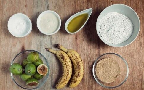 Preparazione Pane ai fichi e banane - Fase 1