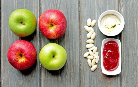 Preparazione Morsi di mela - Fase 1