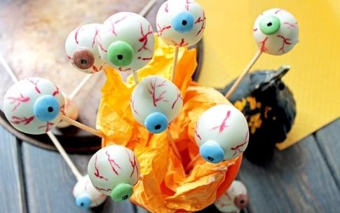 Preparazione Occhi di Halloween - Fase 3