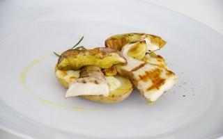 Patate ripiene con Asiago e porcini