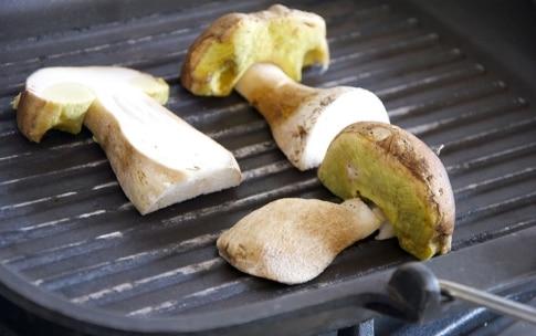 Preparazione Patate ripiene con Asiago e porcini - Fase 2