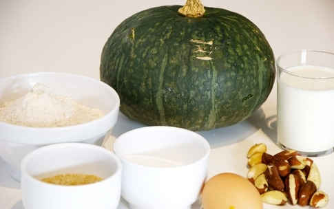 Preparazione Muffin di zucca e noci - Fase 1