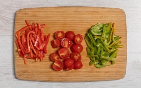 Preparazione Puttanesca di peperoni - Fase 1