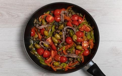 Preparazione Puttanesca di peperoni - Fase 2