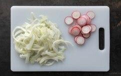 Preparazione Insalata di radicchio e finocchio al pompelmo - Fase 1