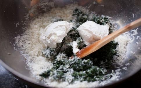 Preparazione Ravioli del Plin con ricotta e spinaci - Fase 5