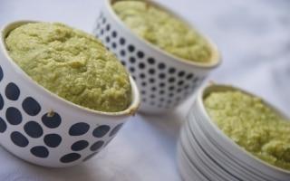 Soufflé di broccoli e gorgonzola