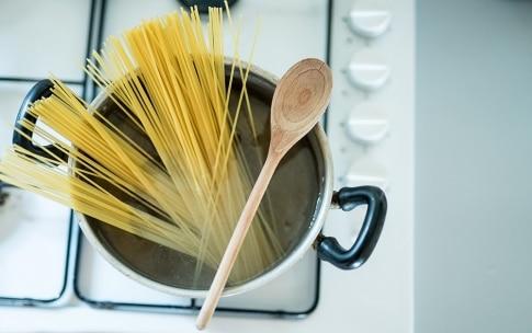 Preparazione Spaghetti al baccalà - Fase 2