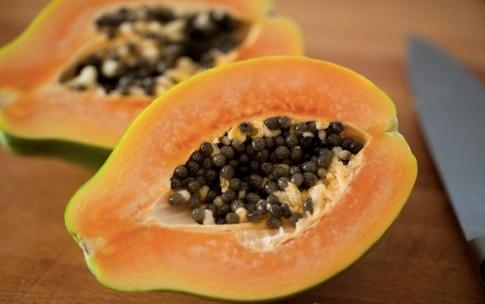 Preparazione Centrifugato di mela verde, papaia e pompelmo - Fase 2