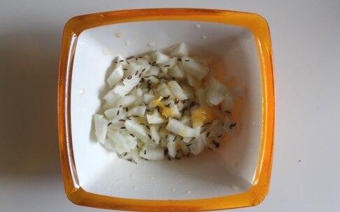 Preparazione Paté di ceci con finocchi all'arancia - Fase 2