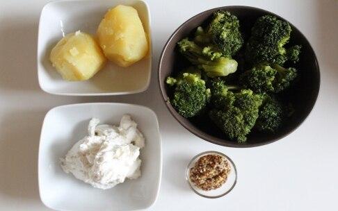 Preparazione Polpette di broccoli con salsa alla senape - Fase 1