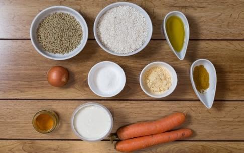 Preparazione Polpette di lenticchie e riso - Fase 1