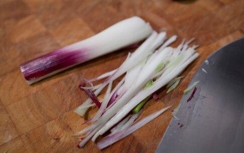Preparazione Timpano di tagliatelle, peperoni e acciughe - Fase 1