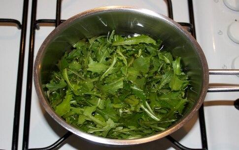 Preparazione Zuppa di broccoli e cicoria allo zenzero - Fase 2