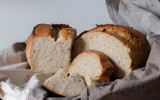 Pane fatto in casa: Farine di grano duro...