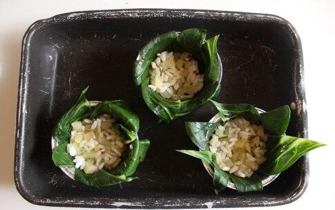 Preparazione Sformati di bietole con riso e crema di zucca al cumino - Fase 2