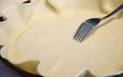 Preparazione Torta salata con cipollotto, spinaci e gorgonzola - Fase 1