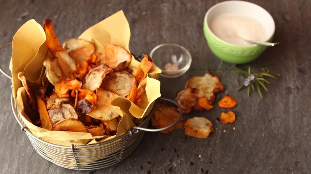 pretty nice 49f35 01e75 Chips di verdure al forno