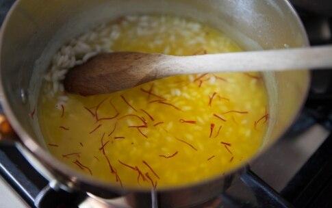 Preparazione Riso giallo con semi di papavero - Fase 3