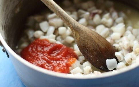 Preparazione Spaghetti al nero di seppia - Fase 2
