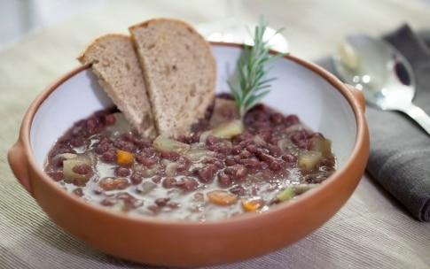 Preparazione Zuppa di patate e fagioli Azuki - Fase 7
