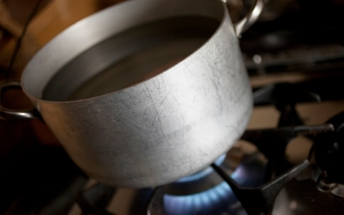 Preparazione Cotechino con polenta - Fase 2