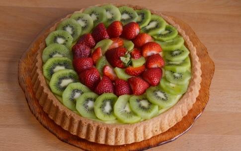Preparazione Crostata di frutta con base soffice - Fase 4