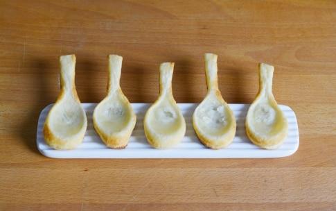 Preparazione Cucchiai di sfoglia con mousse di ricotta - Fase 2