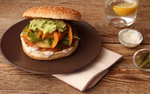 Preparazione Hamburger vegetariano - Fase 4