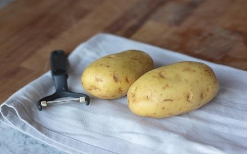 Preparazione Patate fritte - Fase 1