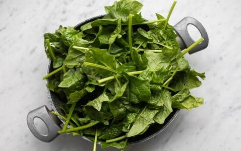 Preparazione Pesto di spinaci - Fase 1