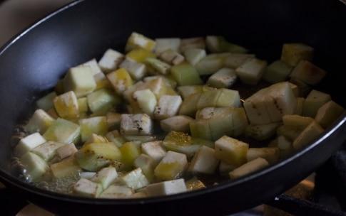 Preparazione Ravioli di grano saraceno con melanzane e burro alla menta - Fase 4