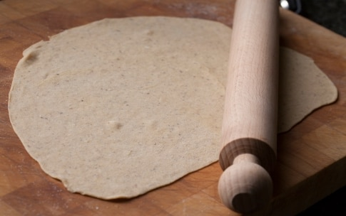 Preparazione Ravioli di grano saraceno con melanzane e burro alla menta - Fase 6