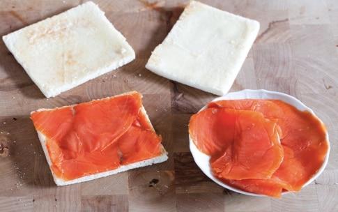 Preparazione Tartine al salmone - Fase 2