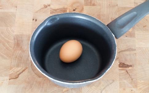 Preparazione Uova sode - Fase 1