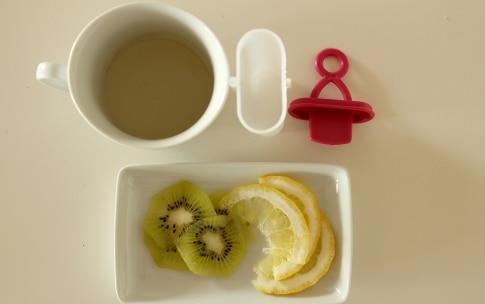 Preparazione Ghiaccioli allo zenzero con limone e kiwi - Fase 2