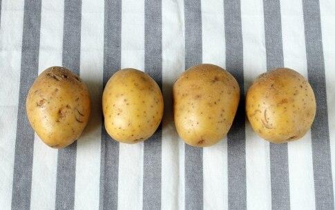 Preparazione Patate Hasselback - Fase 1