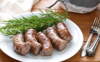 Salsiccia alla griglia