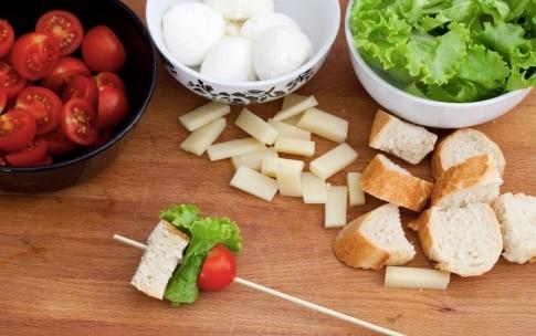 Preparazione Spiedini Club Sandwich - Fase 3