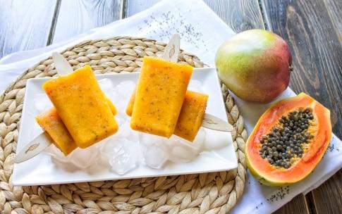 Preparazione Stecco gelato ai frutti esotici e semi di Chia - Fase 2