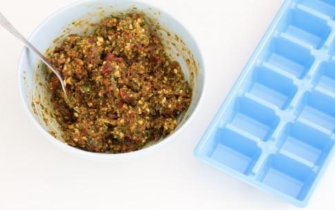Preparazione Sugo ai pomodori secchi e mandorle da congelare - Fase 4